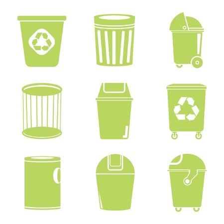 recycle bin: iconos papelera de reciclaje