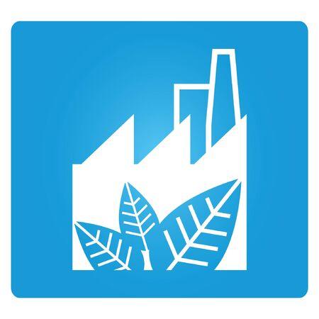 eco factory Vector