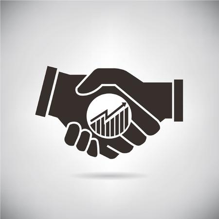venture: handshake Illustration