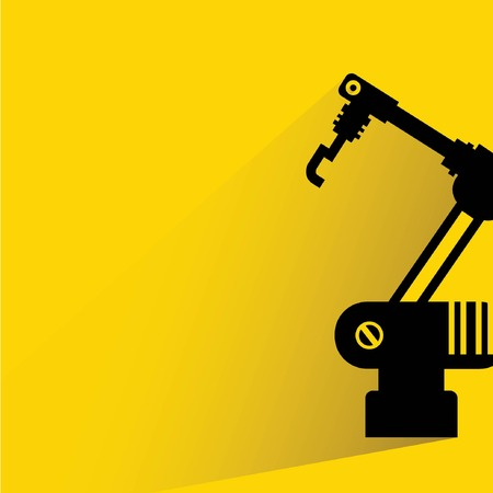 factory automation: robotic arm