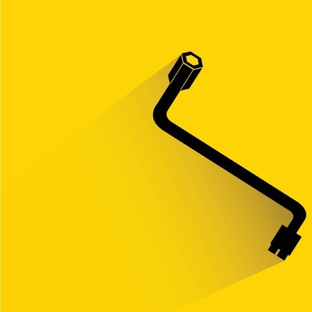 recondition: spanner wrench Illustration