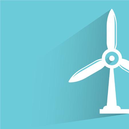 windturbine: wind turbine Illustration