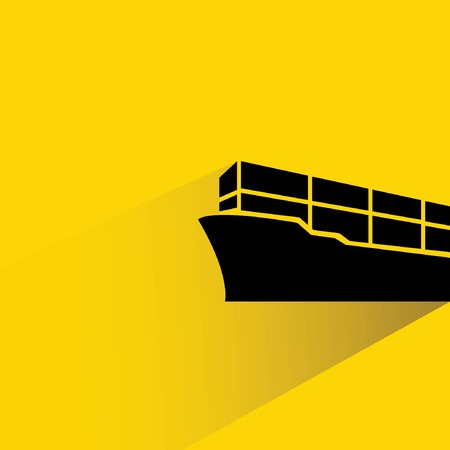 export import: cargo container ship