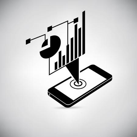 données visuelles, l'analyse des données mobiles