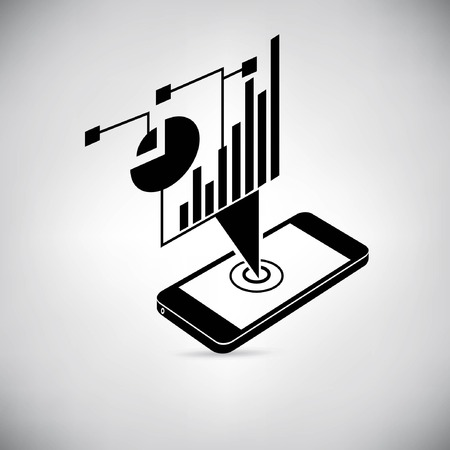 visuellen Daten, mobile Datenanalyse