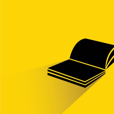 yellow pages: book  Illustration
