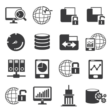 function key: big data icons