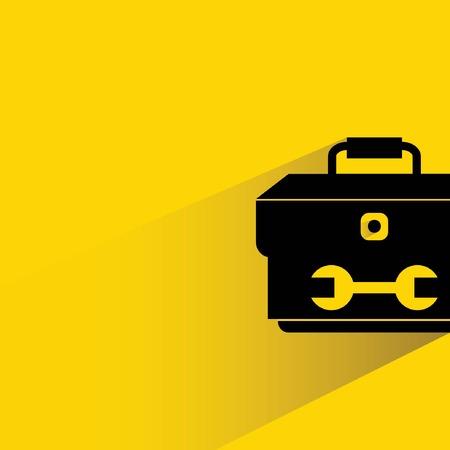 recondition: tools box Illustration