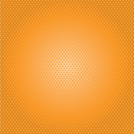 lustrous: orange grid background