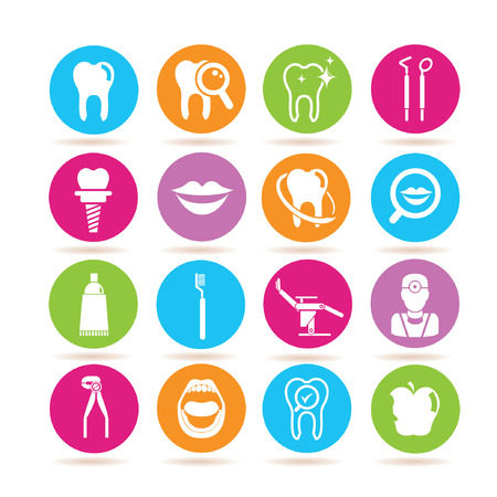 implants: dental icons