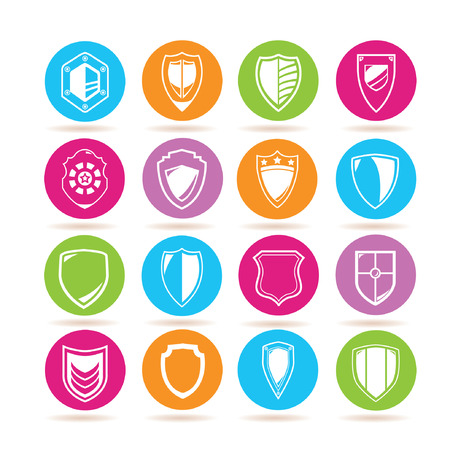 honor guard: shield icons