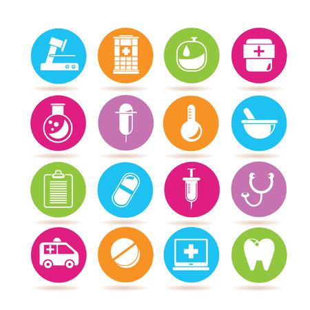 pill box: hospital icons