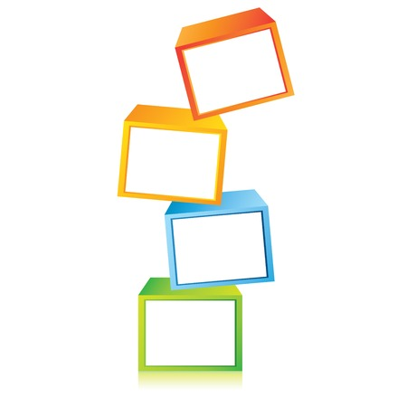 building block: cubes diagram