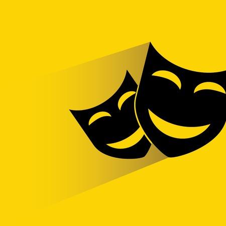 theatre masks: masks