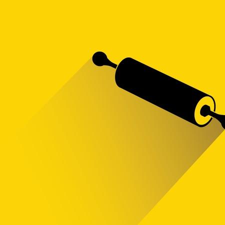 kneading: rolling pin
