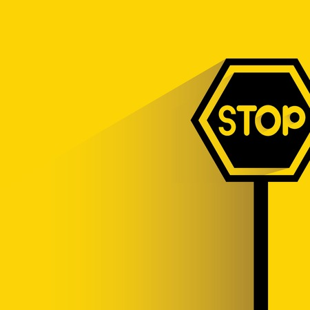 safety message: stop