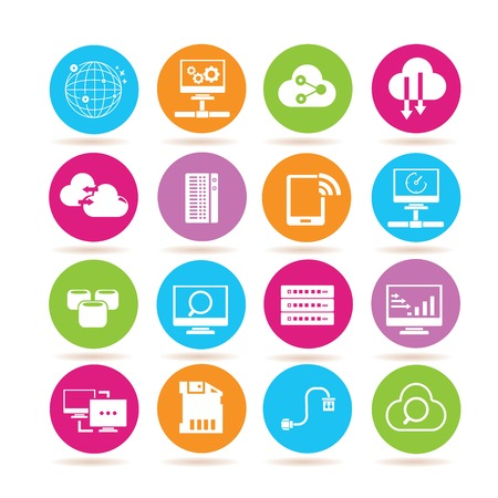 data base: network icons