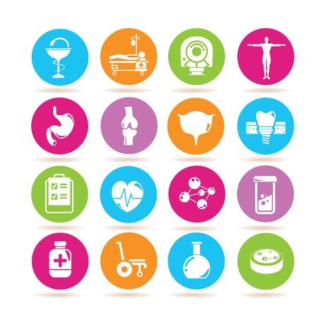 medical scans: medical icons