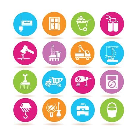 off balance: construction icons
