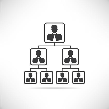 organigrama: organigrama Vectores