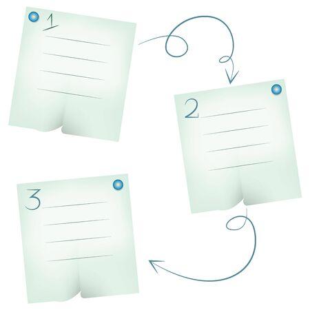 sticky note: sticky note paper diagram