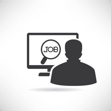 job seeker Vector