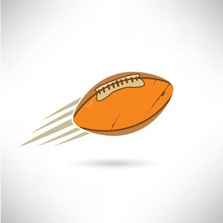 college footbal: de f�tbol americano Vectores