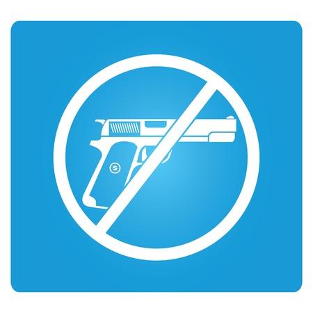 deter: no gun