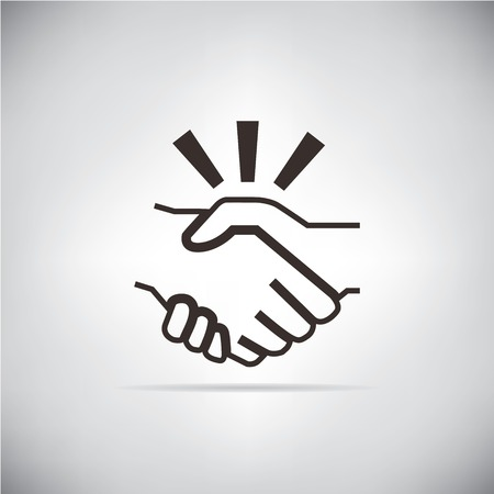 handshake Stock Illustratie