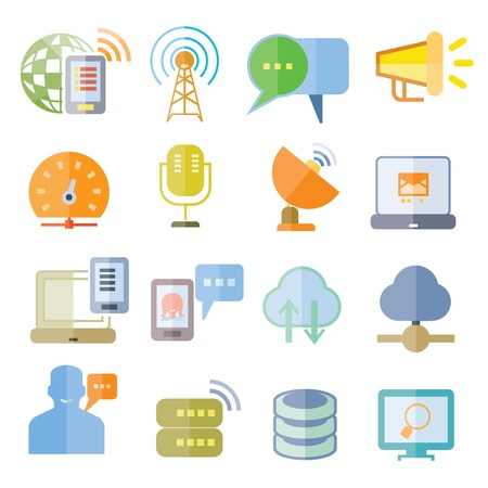 sattelite: network icons