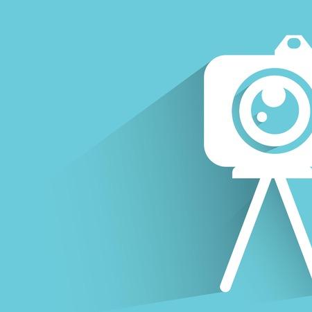 videographer: camera Illustration