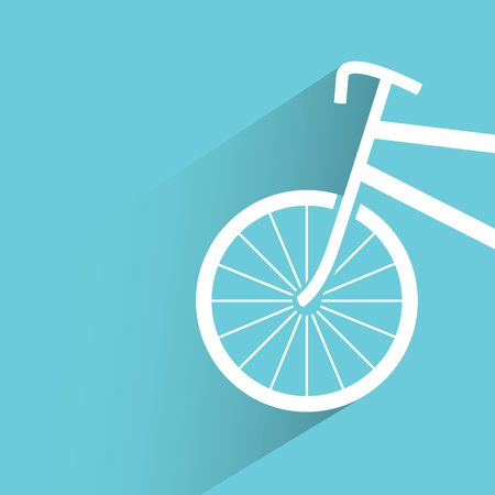 cycle race: bicycle Illustration