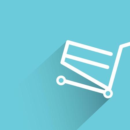 e store: shopping Illustration