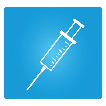 syringe inoculation: syringe Illustration