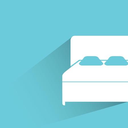 침대 일러스트