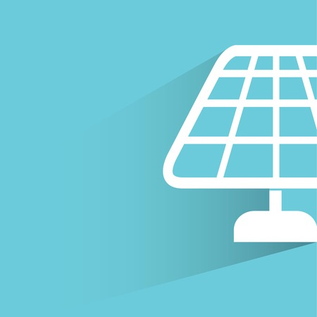 ecologically: solar panel