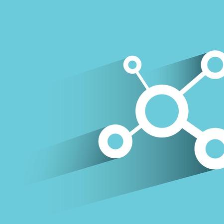 media center: social network concept