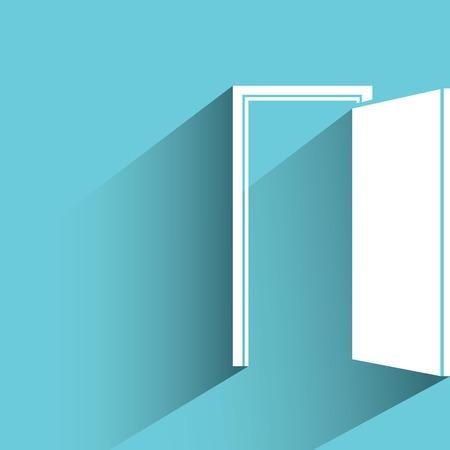 opportunity concept: open door, opportunity concept