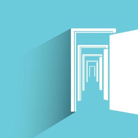 orifice: open door, opportunity concept