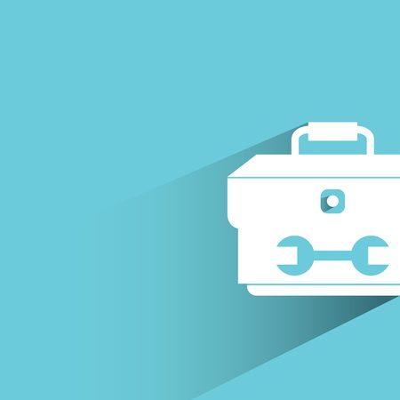 habiliment: tools box Illustration