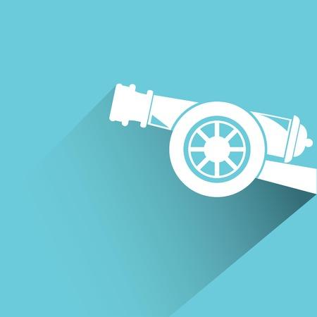 cannon gun: cannon