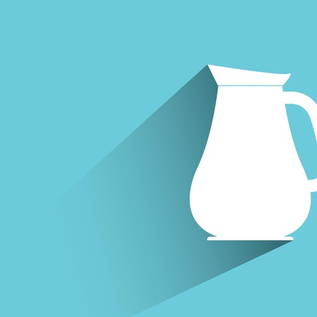 milk jug: brocca di latte