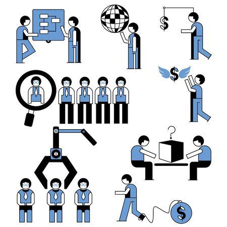 human resource people Vector