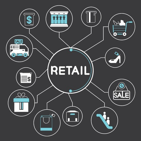 retailing: retail and shopping concept
