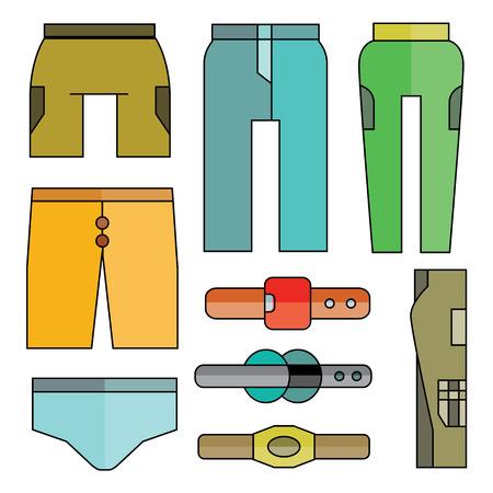 stride: pants Illustration