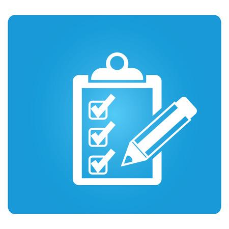 Checkliste Standard-Bild - 34670465