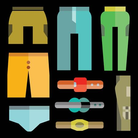 habiliment: pants set