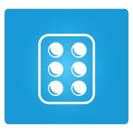 blister: medicine tablets