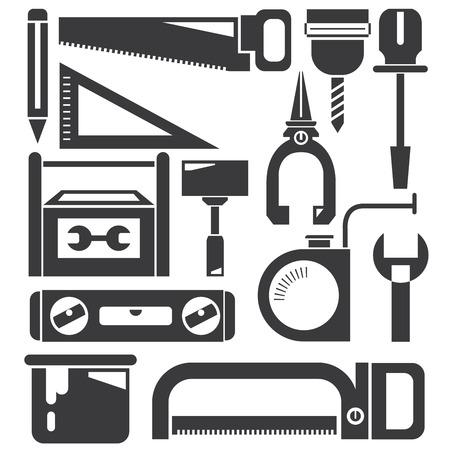 herramientas de mec�nica: herramientas mec�nicas establecen Vectores