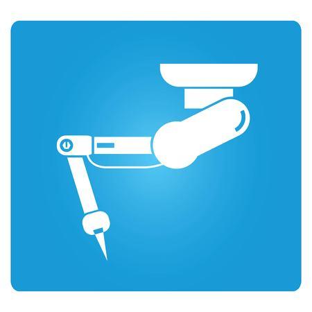 robot arm: industrial robot